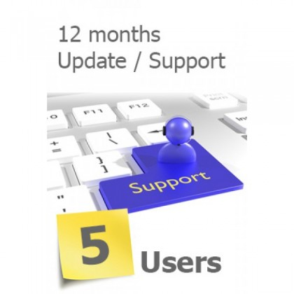 SERVERLINK -5 Users Annual Subscription
