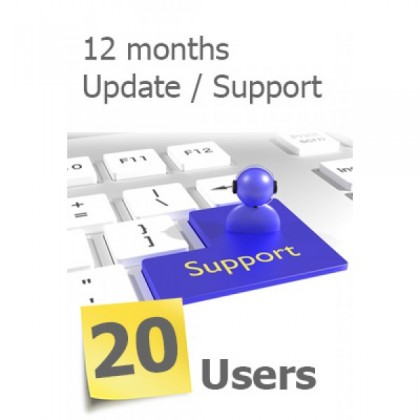 SERVERLINK -20 Users Annual Subscription